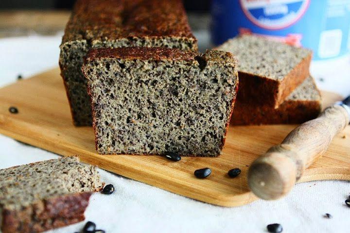 Gluten Free Black Bean Cauliflower Protein Bread