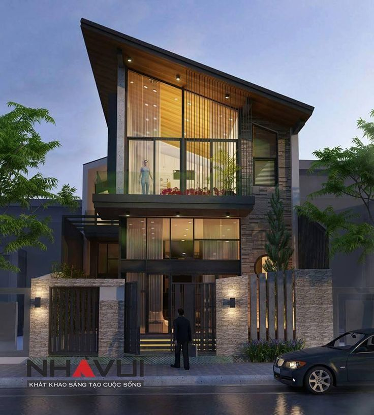 Front Elevation Lights : Best house elevation sloping compact images on