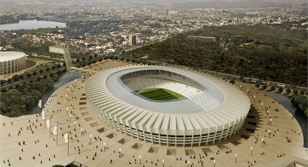 The Estadio Mineirao will host six matches.