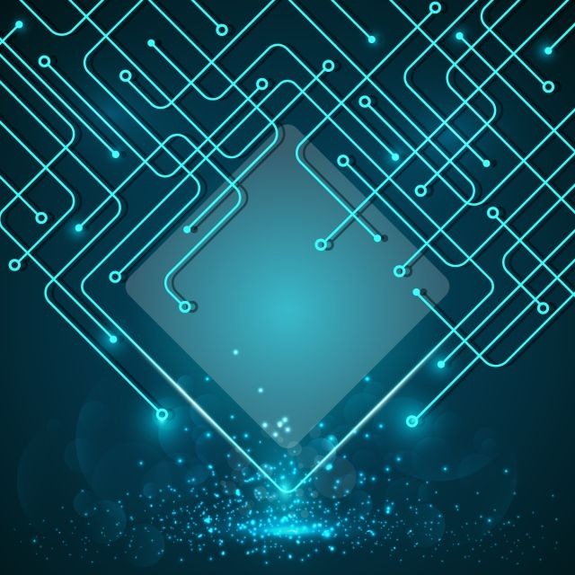 Blue Technology Background Background Tech Circuit Png And Vector With Transparent Background For Free Download Technology Background Vector Technology Fantasy Background