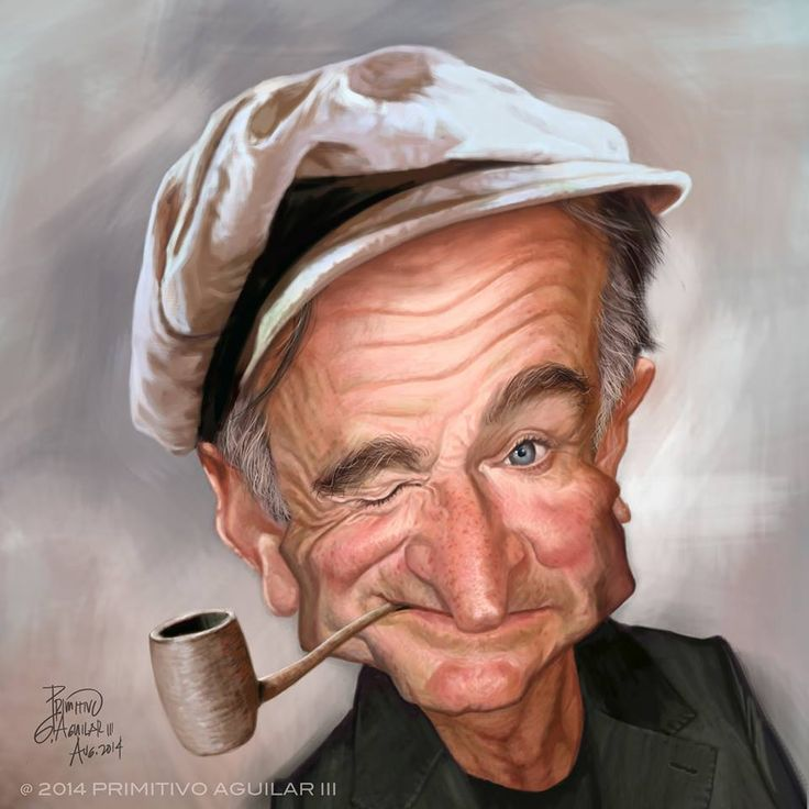 Robin Williams by Tivo Aguiler