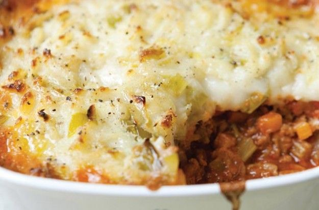 Hairy biker's healthy cottage pie