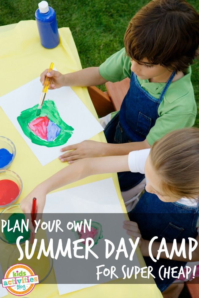 Create Your Own Summer Day Camp Kids ActivitiesCamping
