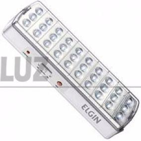 15 Luminarias Elgin De Emergencia 30 Leds 2w (mega Promoção)