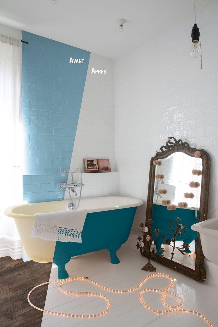 les 25 meilleures idées de la catégorie repeindre baignoire sur ... - Repeindre Une Baignoire Avec Resinence