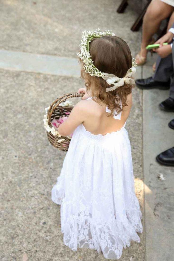 flower crown wedding ideas