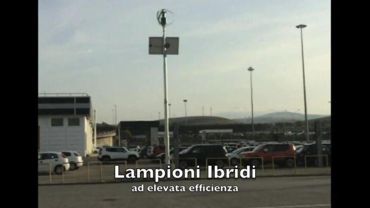 Lampioni ibridi a San Nicola Di Melfi stabilimento Fiat