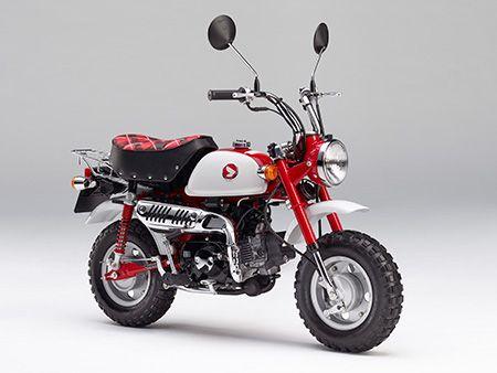 原付レジャーモデル「モンキー・50周年アニバーサリー」を発売 #Honda #モンキー #バイク
