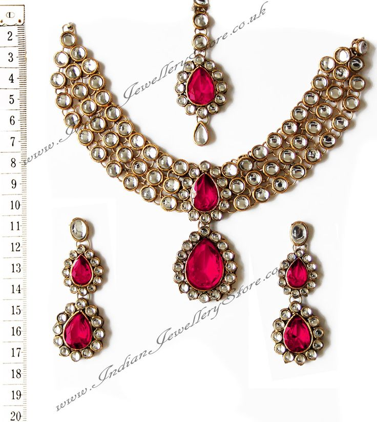 Indian Jewellery & Bridal Jewellery | Buy - Pink Gold Sets - NAPK0700