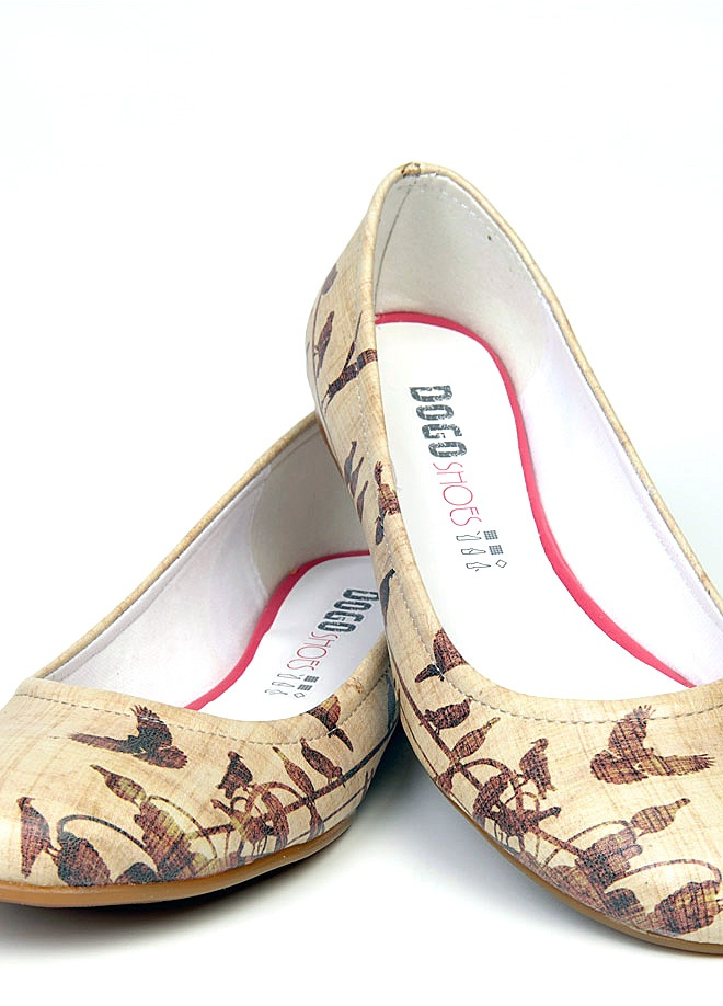 Dogo shoes Vintage Crows Flats