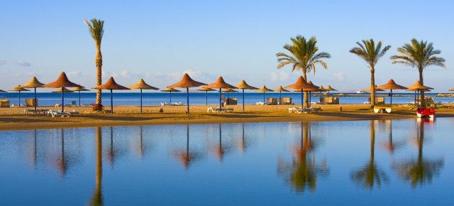 Super Last Minute Ägypten: 7 Tage im Top 4* All Inclusive Hotel schon für 195€ mit Flügen, Transfer & Zug zum Flug