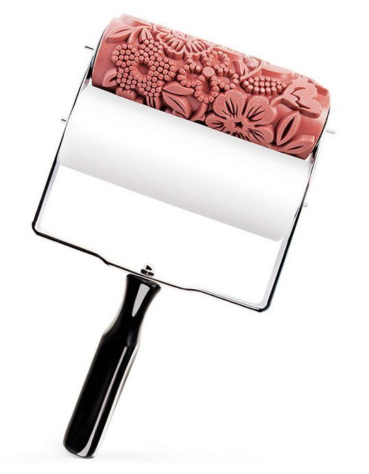 Patterned Paint Rollers : Patterned Paint Roller