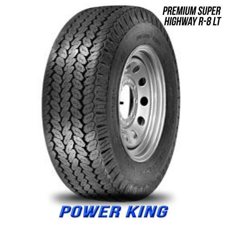PowerKing Premium Super Highway R-8 LT LT 8.75-16.5 10PLY 875 16.5 875165