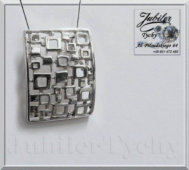 #Duży #Srebrny #wisiorek #Krata #Srebro #Ag925 #jubilertychy #Silver #Jubiler #Tychy #Jeweller #wisiorki #srebrne #biżuteria #srebrna #Pracownia #Złotnicza #Tyski #Złotnik #Zaprasza #Promocje : ➡ jubilertychy.pl/promocje 💎