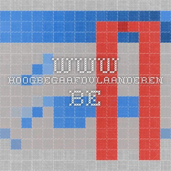 www.hoogbegaafdvlaanderen.be