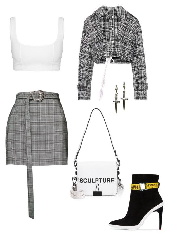"""""""NYFW"""" by flamegirls ❤ liked on Polyvore featuring Off-White, Magda Butrym and Tina Tang"""