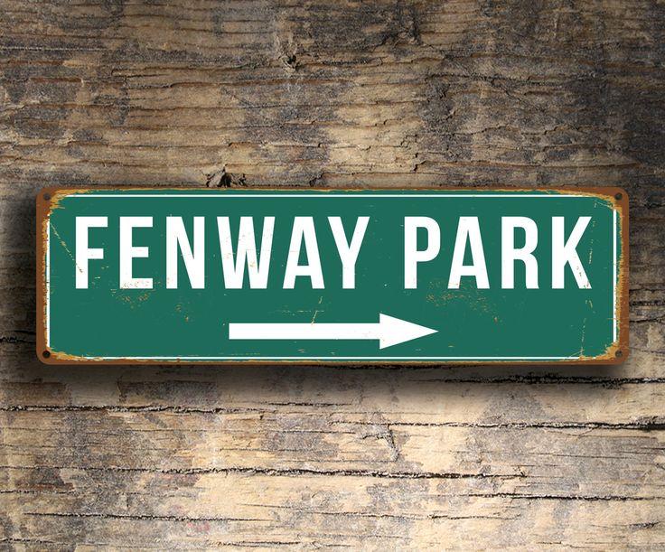 Fenway Park Sign