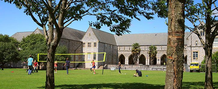 volleyball on st lukes campus