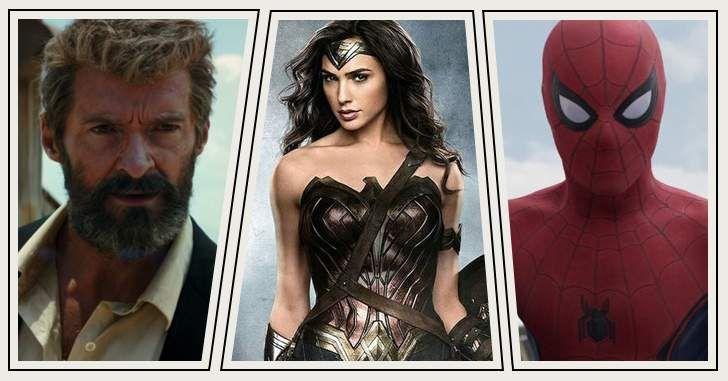 Os filmes de heróis estão chegando! Nós já tivemos a estreia deAssassin's Creed exXx: Reativado.Mas, em março, teremos o primeiro filme de 2017, de fato, inspirado em uma história em quadrinhos. Como se 2016 já não tivesse sido bom o bastante, 2017 promete surpreender ainda mais com grandes produções. Nomes comoLogan,Mulher-Maravilha,Liga da Justiça eHomem-Aranha são …