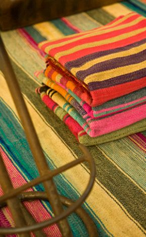 Beautiful turkish hammam towels.