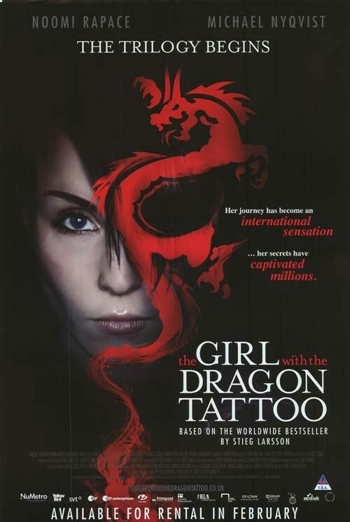 51 best movies i saw of spring 15 images on pinterest for The girl with the dragon tattoo movie free online