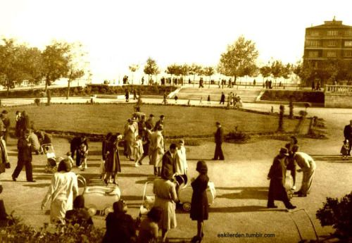 Taksim Gezi Parkı (1945 ile 1955 arası)