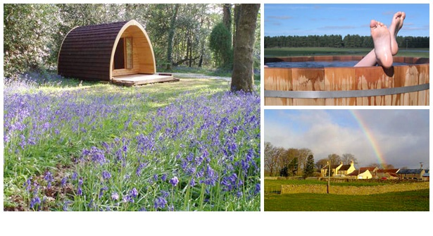 Choose from 20 extraordinary UK escapes for two people. Spend one or two nights in a luxury camping pod, a lodge in the Scottish Highlands or a gorgeous country cottage