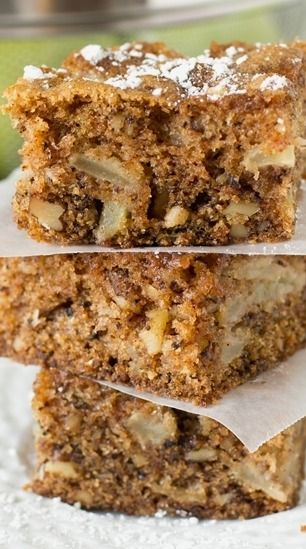 Apple Walnut Cake | Recipe | Walnut Cake, Moist Cakes and Apples