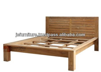 Teak Wood Beds Models Bali Rustic Furniture Indonesia - Buy Teak ...