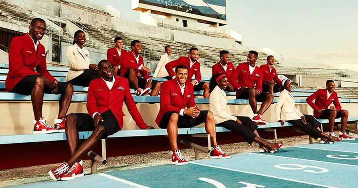 L'équipe olympique de Cuba relookée par Louboutin pour les jeux de Rio. La marque de luxe s'est associé au créateur et ancien joueur de handball Henri Tai pour cette collection unique.