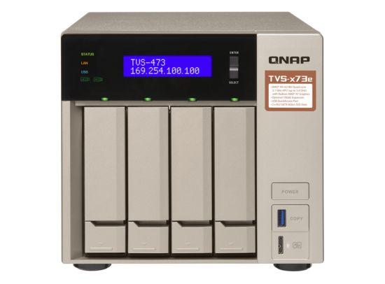 QNAP Introduz o NAS TVS-x73e de 4/6/8 Baías
