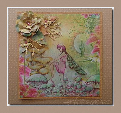 Chocolate Baroque Design Team: Colourful fairy forest by Miranda