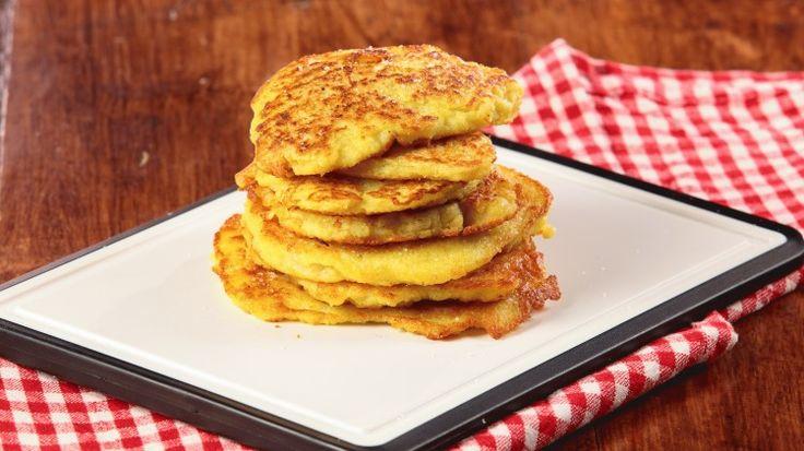 Ricetta Pancakes di patate: Si, avete letto bene, pancakes di patate! Non ci avevate mai pensato