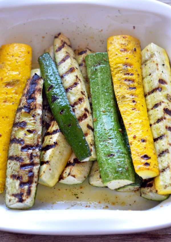 Check out Grilled Summer Squash with Feta, Lemon & Fresh Herbs. It's ...