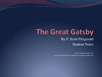 The rich symbolism in the great gatsby by f scott fitzgerald