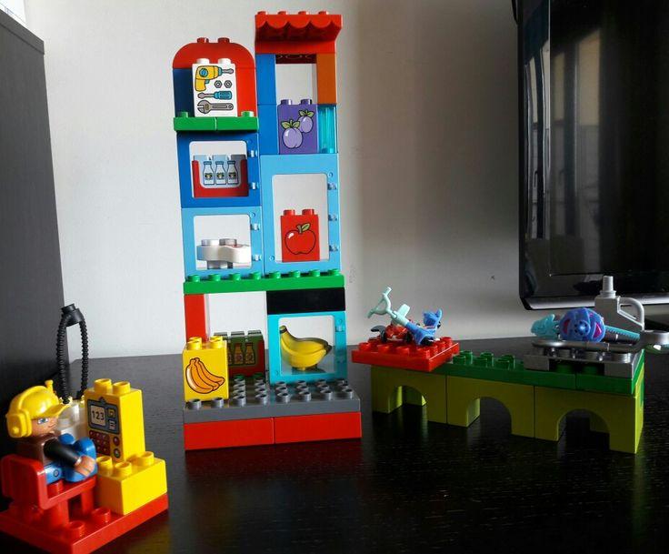 Lego duplo super market
