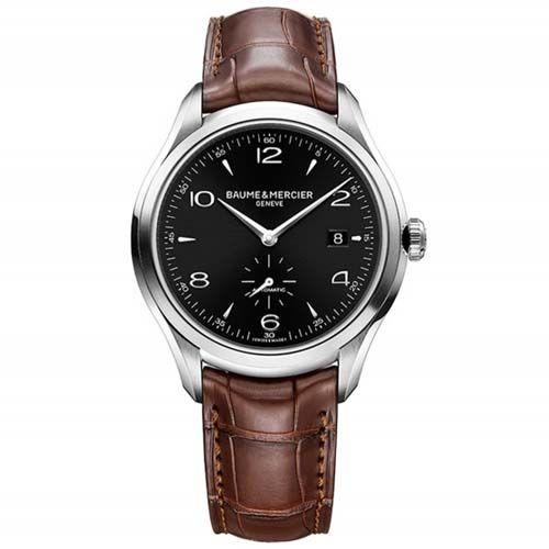 Relógio Baume & Mercier Masculino Couro Marrom - M0A10053