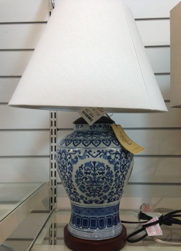 Chinoiserie Lamps at HomeGoods