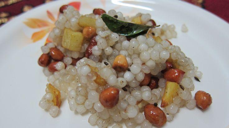 Navratri Food - Sabudana Khichdi