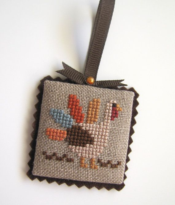 Completed Lizzie Kate Thanksgiving Turkey by CanyonsideNeedlework
