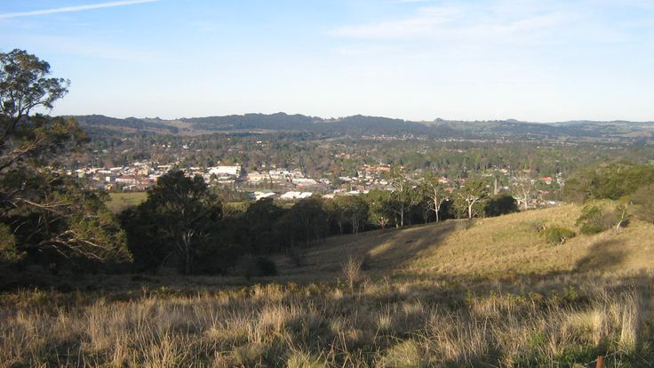 Bowral from Oxley Hill