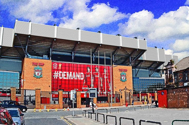 The Kop, Anfield, Liverpool; home of Liverpool FC