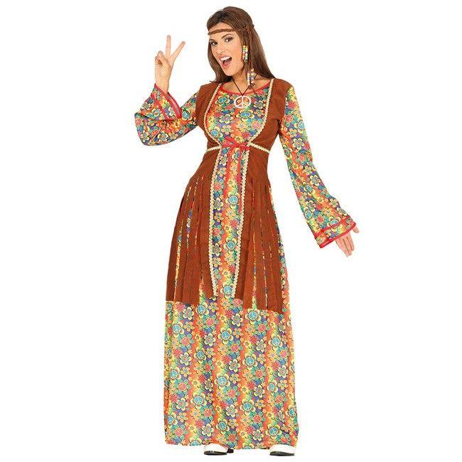Disfraz de Hippie Peace and Love para mujer #disfraces #carnaval #novedades2017