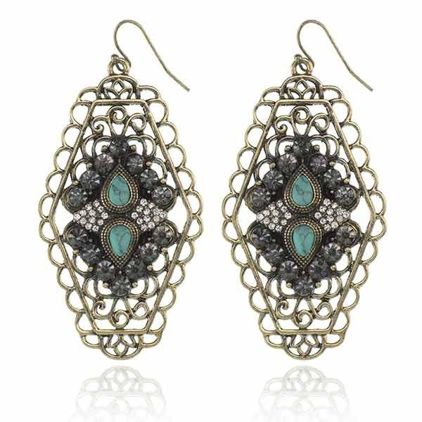 Shade Of Day Earrings Turq