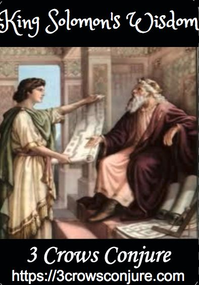 Just in... King Solomon's Wi... Flying out the door... http://3crowsmagick.com/products/king-solomons-wisdom?utm_campaign=social_autopilot&utm_source=pin&utm_medium=pin