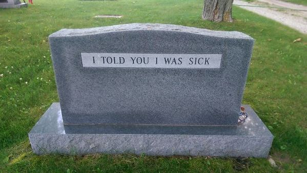 70 Funny inscriptions on tombstones. People whose sense of humor will live forever