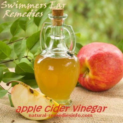 apple cider vinegar for swimmers ear