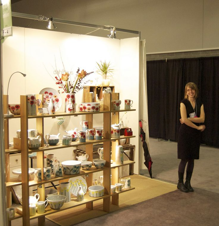 Portable Exhibition Booth Sia : A quick booth shot after day at the ooak craft show