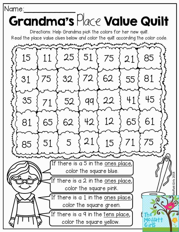 Image result for free place value worksheets | Math ...
