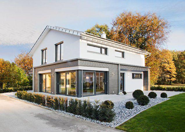 Haus bauen modern klinker  Der sparsame Siegertyp – von Fertighaus Weiss | Haus & Bau ...